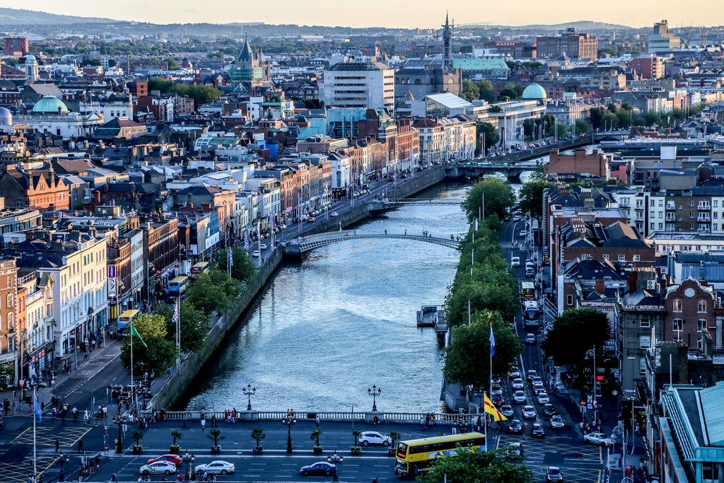 Dublin's river Liffey